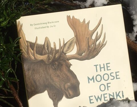 Book cover of The Moose of Ewenki